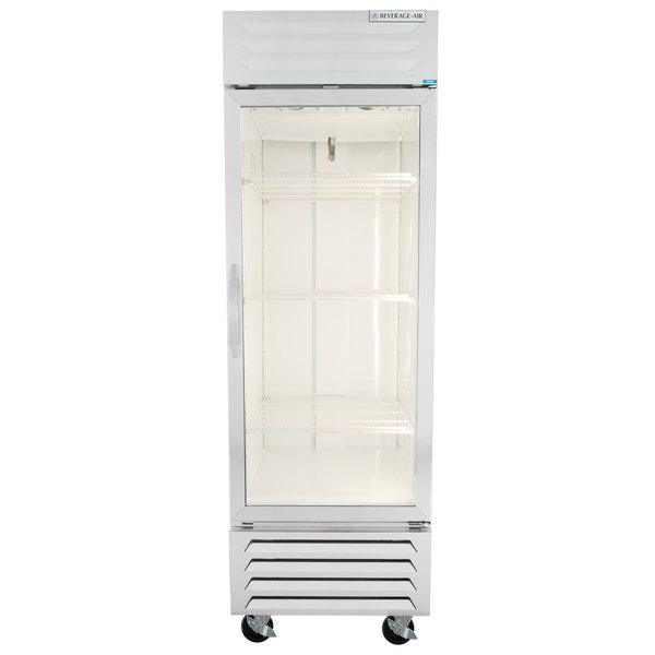 Beverage Air Fb23 1g Led 27 Vista Series One Section Glass Door