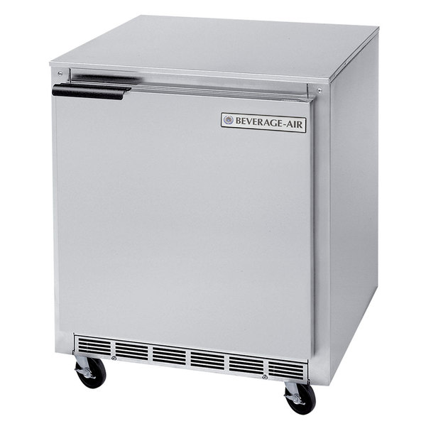 "Beverage-Air UCF24AHC 24"" Undercounter Freezer - 6.5 Cu. Ft."