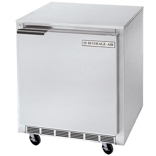 "Beverage-Air UCF24HC 24"" Shallow Depth Undercounter Freezer"