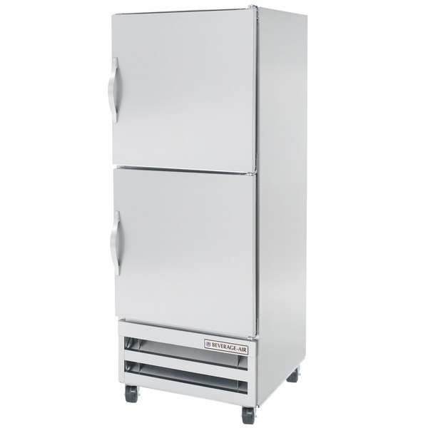 "Beverage-Air RI18-HS 27"" One Section Solid Half Door Reach-In Refrigerator - 18 cu. ft."