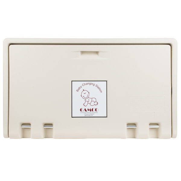 Gamco BCS-1 Horizontal Baby Changing Station / Table - Cream