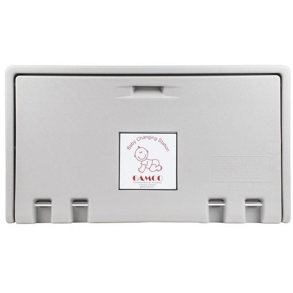 Gamco BCS-2 Horizontal Baby Changing Station - Gray