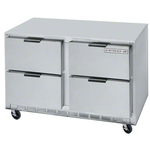 """Beverage-Air UCFD48AHC-4 48"""" Undercounter Freezer with 4 Drawers - 13.9 Cu. Ft."""