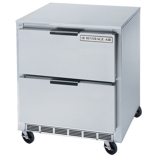 """Beverage-Air UCFD36AHC-2 36"""" Undercounter Freezer with 2 Drawers - 8.5 Cu. Ft."""