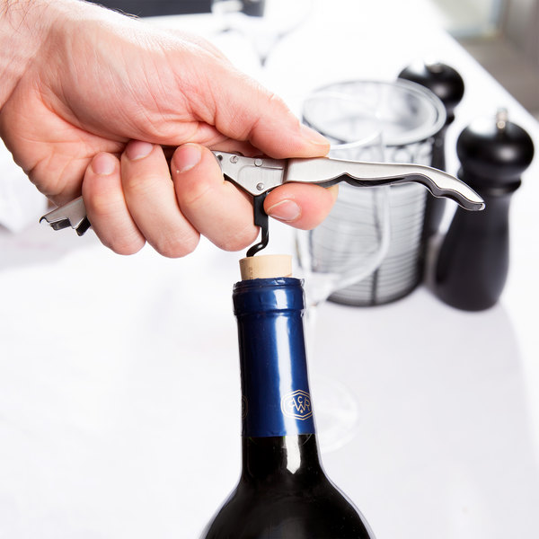 Franmara 5411 Stainless Steel Waiter's Corkscrew with Foil Cutter