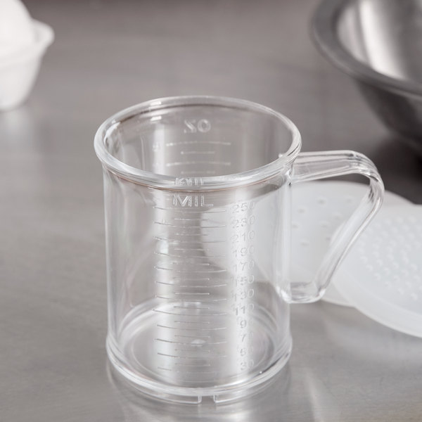 8 oz. Acrylic Dredge / Measuring Cup