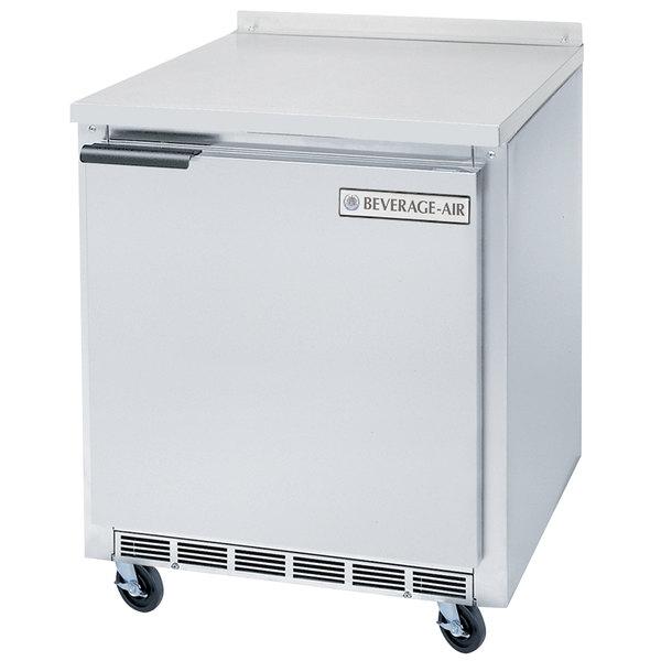 """Beverage-Air WTR24AHC 24"""" Worktop Refrigerator - 4.7 Cu. Ft."""