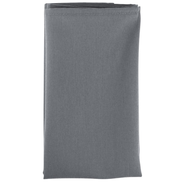 Intedge Gray 100 Polyester Cloth Napkins 20 X 20 12 Pack