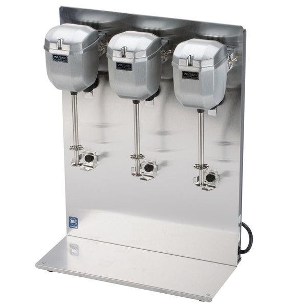 Waring DMC201DCA 2 Speed Triple Head Drink Mixer 120V Main Image 1