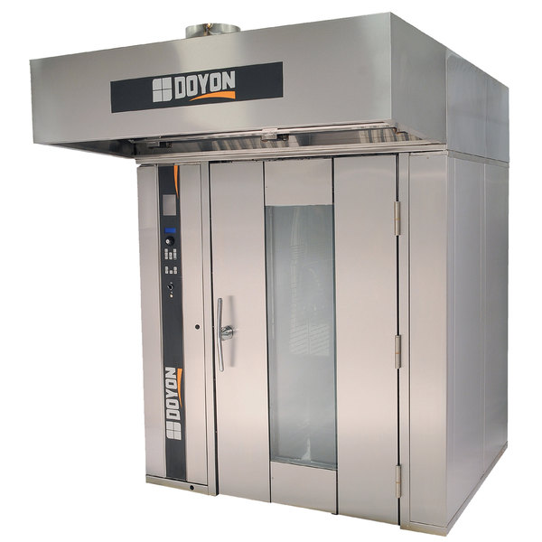Doyon SRO2G Natural Gas Double Rotating Rack Bakery Convection Oven - 240V, 1 Phase, 275,000 BTU