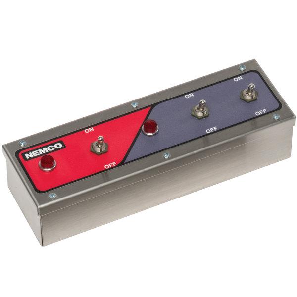 Nemco 69007-2 Remote Control Box with Toggle Switches - 240V