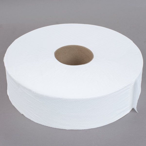 Merfin 1-Ply Jumbo 4000\' Toilet Paper Roll with 12\