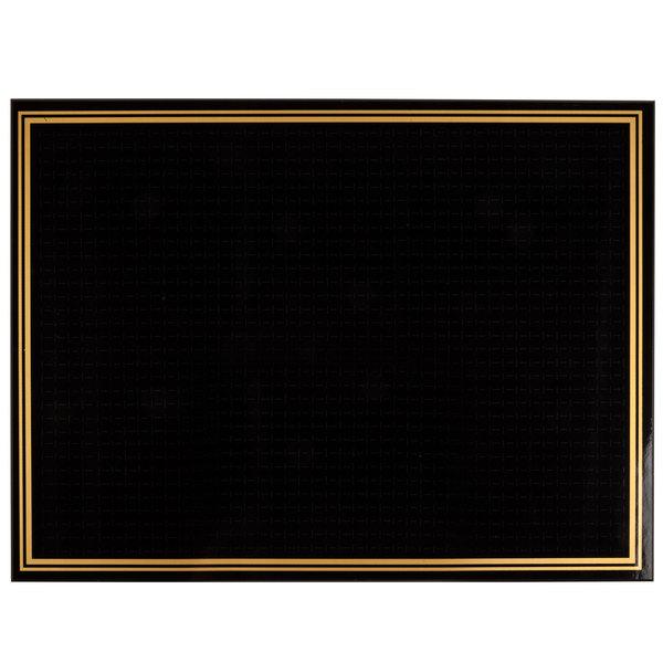 18 inch x 24 inch Ebony (Black) Marker Board RMW-1824-B