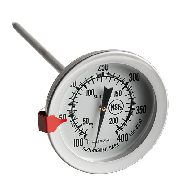 """Solid Metal Industrial Temperature Gauge Dial Probe for water and Oil 1//2/"""""""
