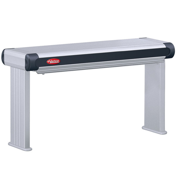 """Hatco GR2AL-18 18"""" Glo-Ray Designer Single Infrared Strip Warmer with Lights and Remote Controls - 120/240V, 370W"""