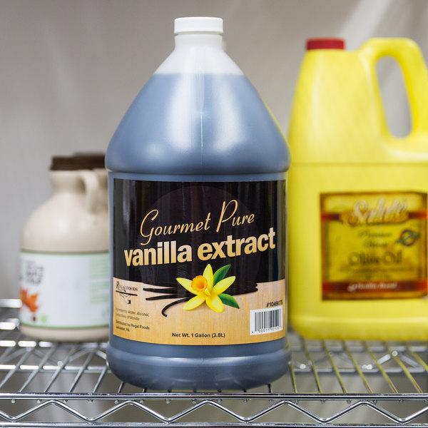 Regal Foods 1 Gallon Gourmet Pure Vanilla Extract