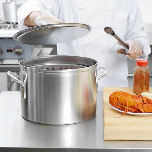 Vollrath 68271 Wear-Ever 20 Qt. Boiler / Fryer Set