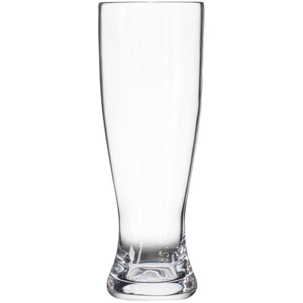 GET SW-1465-CL 23 oz. Clear Plastic Pilsner Glass - 24/Case