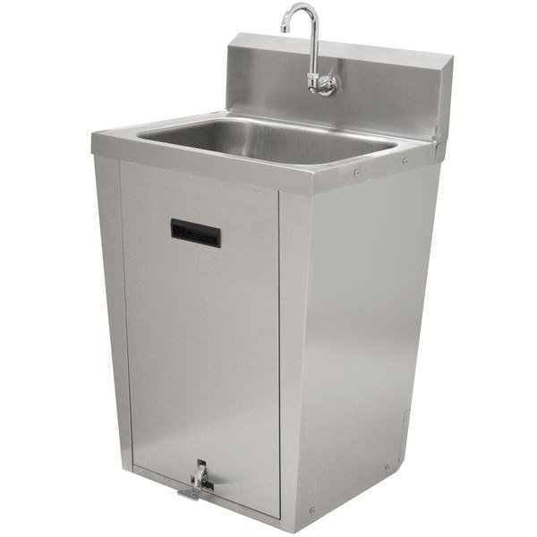 Advance Tabco 7 PS 86 Hands Free Hand Sink With Pedestal Base