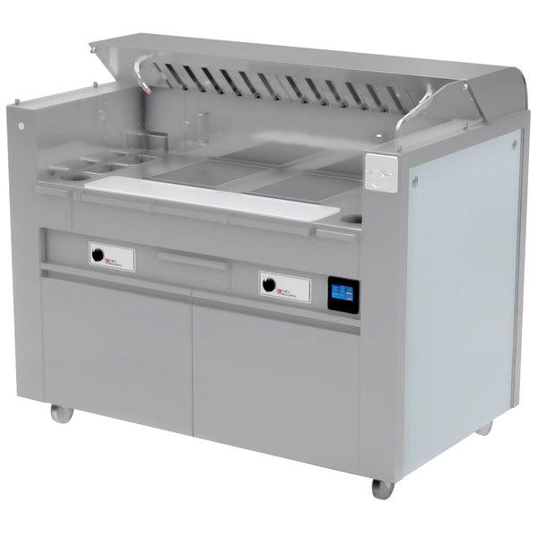Kaliber Innovations MC-59-FPS-R7-R7 Valere Series Mobile Induction Range Combo Cooking Station
