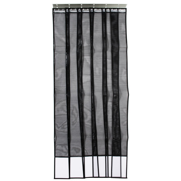 "Curtron SD-MESH-3684 36"" x 84"" Mesh Strip Door / Insect Barrier and Bug Curtain"