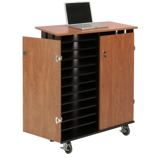 Oklahoma Sound LCSC 24 Laptop Charging Station and Storage Cart Main Image 1