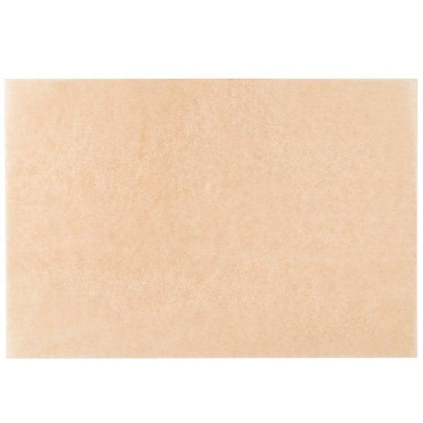 Baker's Mark PanPal 24 inch x 16 inch Full Size Unbleached Quilon® Coated Parchment Paper Bun / Sheet Pan Liner Sheet - 50/Pack