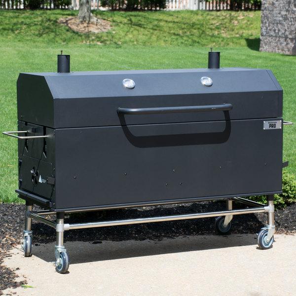 Backyard Pro Charcoal Wood Smoker Grill 60