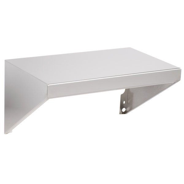 "Backyard Pro C3H8SHELF Stainless Steel Side Shelf - 14 1/4"" x 23"""
