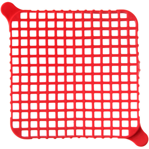 "Nemco 56381-1 1/4"" Red Push Block Cleaning Gasket"