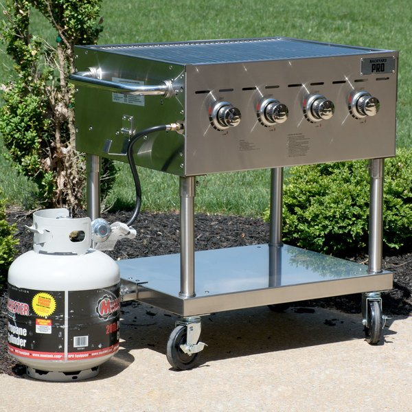 "Backyard Pro C3H830 30"" Stainless Steel Outdoor Grill"
