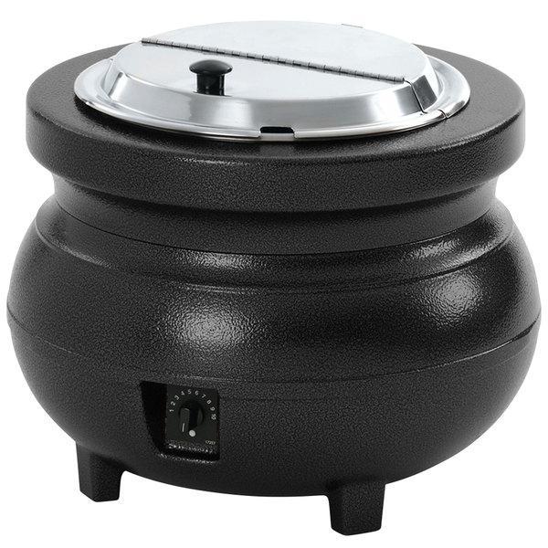 Vollrath 72175 11 Qt. Soup Rethermalizer Kettle Black - 120V, 900W