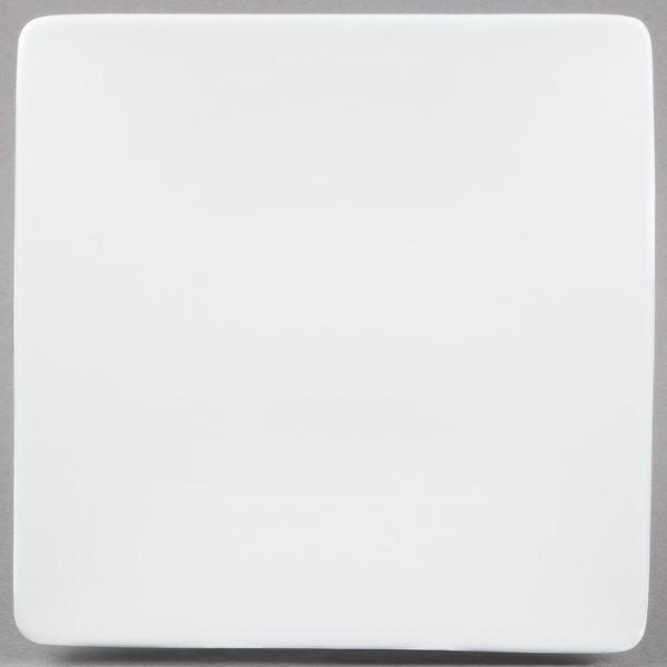 "10 Strawberry Street B4501 Izabel Lam Pond 8"" White Square Bone China Plate - 36/Case Main Image 1"