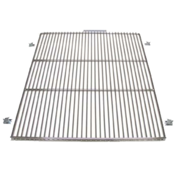 "True 919443 Stainless Steel Wire Shelf with 5"" Standoff - 24 9/16"" x 22 3/8"""