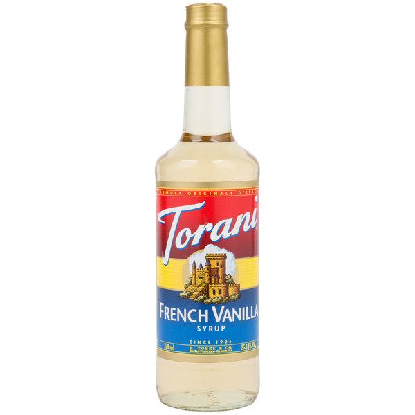 Torani 750 mL French Vanilla Flavoring Syrup