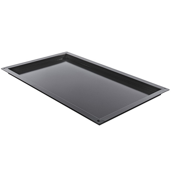 "Rational 6014.2102 Granite Enamel Roasting Pan - 25 1/2"" x 21"" x 3/4"" Main Image 1"