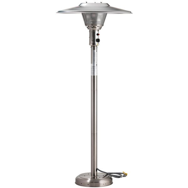 Marvelous Crown Verity CV3050 Stainless Steel Portable Natural Gas Outdoor Patio  Heater   45,000 BTU