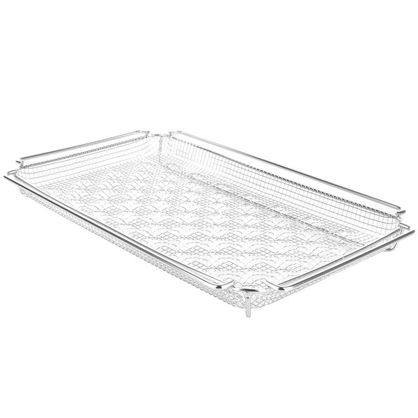 "Rational 6019.1250 CombiFry 12"" x 10"" French Fry Tray Main Image 1"