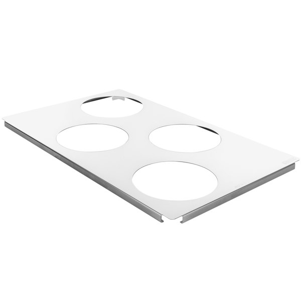 Rational 60.73.212 Small Roasting / Baking Pan Carrier Tray - 4 Pan Capacity