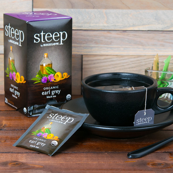 Steep By Bigelow Organic Earl Grey Tea - 20/Box