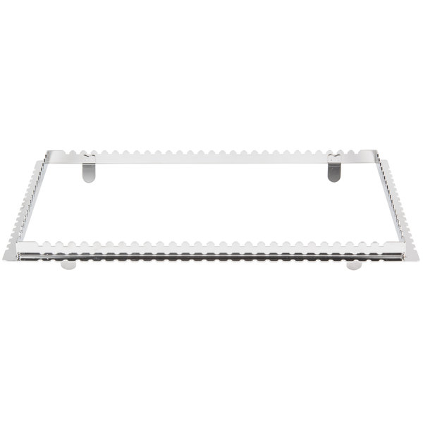 "Rational 60.72.224 20 7/8"" x 12 13/16"" Grill and Tandoori Skewer Frame"