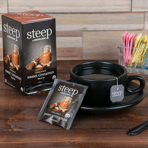 Steep By Bigelow Organic Sweet Cinnamon Black Tea - 20/Box