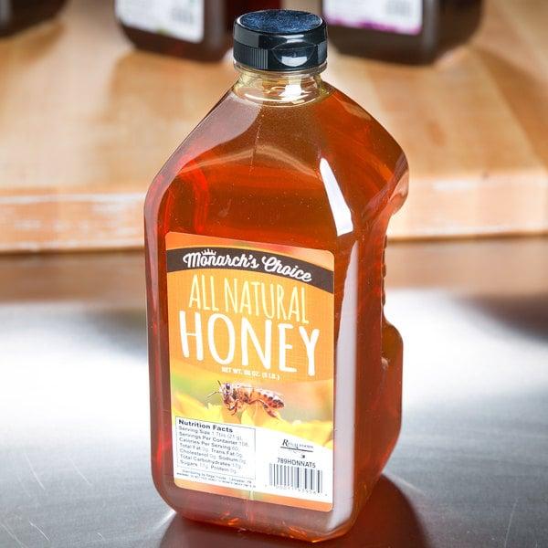 Monarch's Choice All Natural Honey 5 lb.