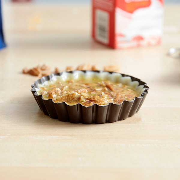 """Gobel Non-Stick Tart / Quiche Pan with Removable Bottom 4"""""""