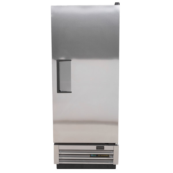 True T-12-HC 25 inch One Section Solid Door Reach-In Refrigerator - 12 cu. ft.