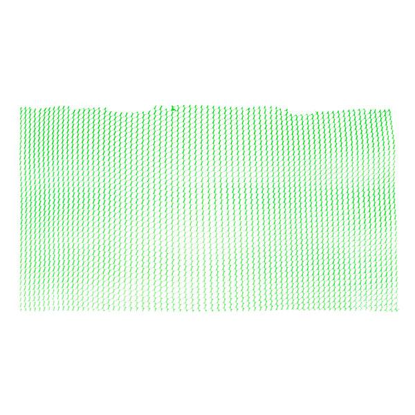 2' Green Plastic Mesh Bar Mat / Shelf Liner