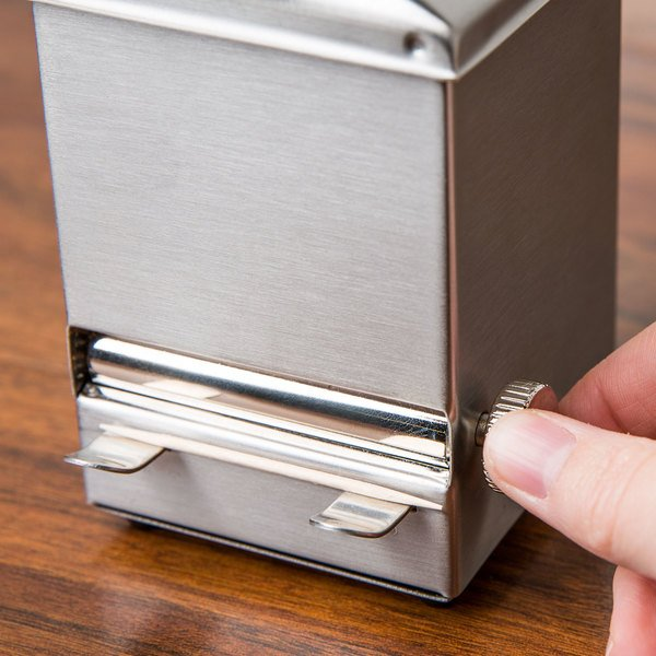 Tablecraft 236 Stainless Steel Toothpick Dispenser