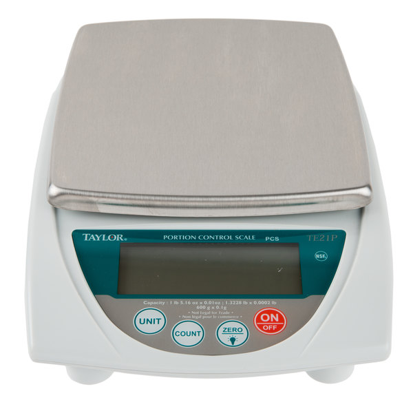 ... Herbs, Teas, And More, The Taylor TE21P 21 Oz. Precision Digital  Portion Control Scale Will Serve As A Welcome Addition To Your Kitchen ...