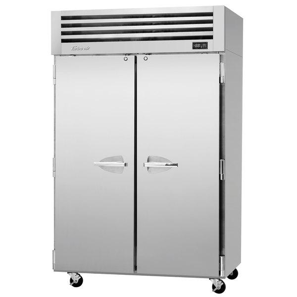"Turbo Air PRO-50R-N 52"" Premiere Pro Series Solid Door Reach in Refrigerator"