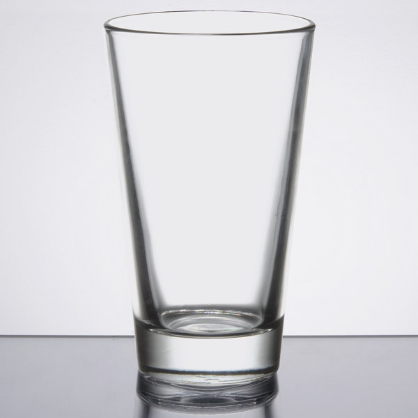 008c115c574 Libbey 1632HT Restaurant Basics 18 oz. Mixing Glass - 24/Case